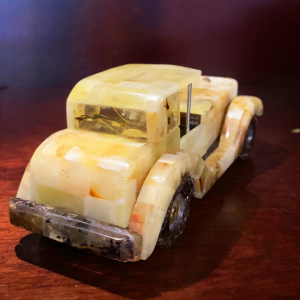 Natural Amber Car