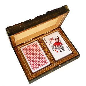 Amber Casket for Cards