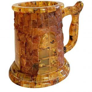 Amber Beer Mug