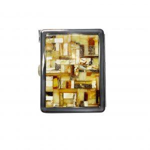Amber cigarette case