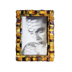 Amber photo picture frame 15 x 10cm